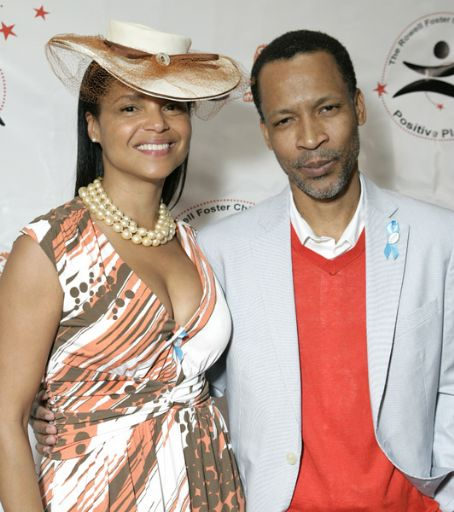 Victoria Rowell and Radcliffe Bailey