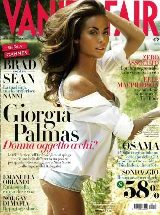 Giorgia Palmas - Vanity Fair Magazine Cover [Italy] (11 May 2011)