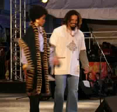 Lauryn Hill  and Rohan Marley