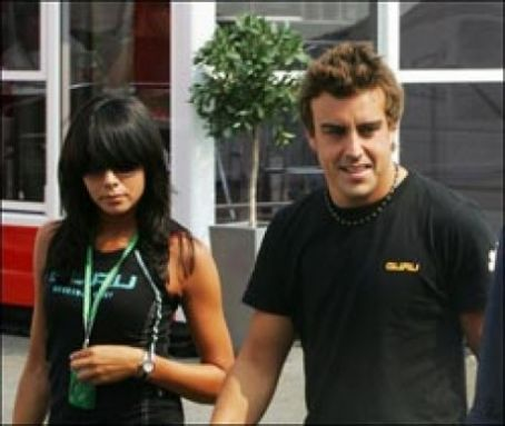 Fernando Alonso Raquel Del Rosario and