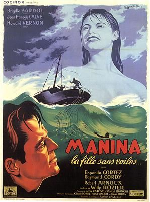 The Girl in the Bikini (1952) Poster