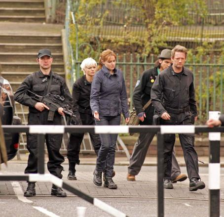 Hannah Spearritt - Primeval Behind The Scenes