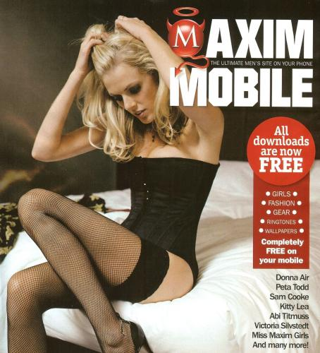 Donna Air  - Maxim UK April 2008