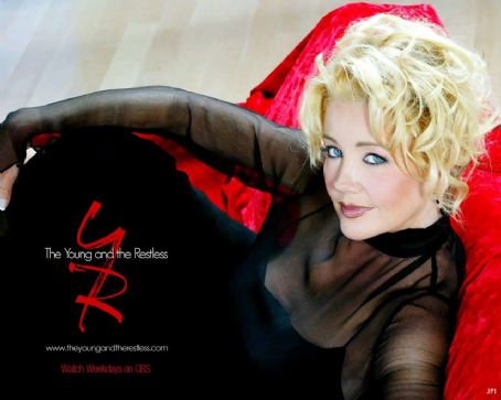 Melody Thomas Scott The Young and the Restless (TV Series) Wallpaper