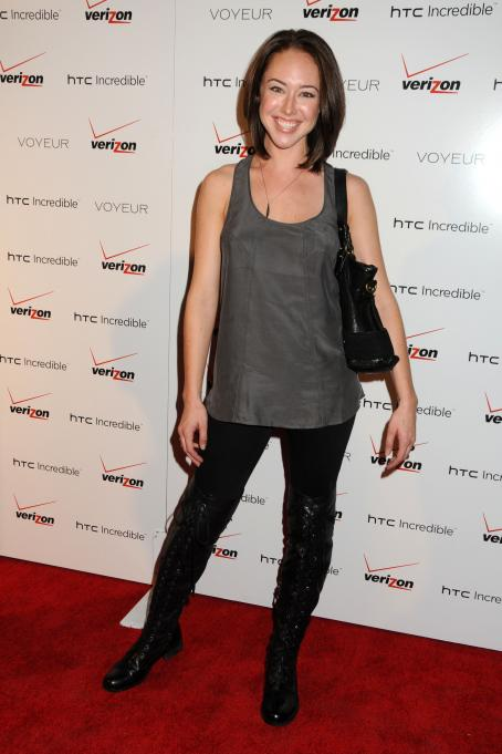 Lindsey McKeon  - Verizon/HTC Incredible Cabaret event held at Voyeur on November 4, 2010 in West Hollywood, California