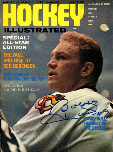Bobby Hull Jan 2 1970