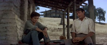 Jean Simmons - The Big Country movie stills