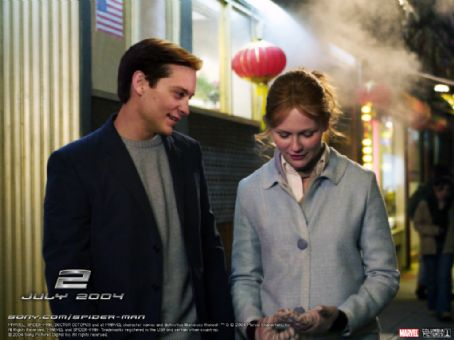 Mary Jane Watson Kirsten Dunst and Tobey Maguire