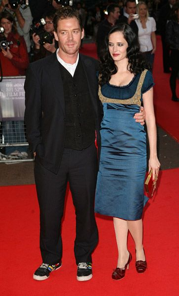 Marton Csokas Eva Green and