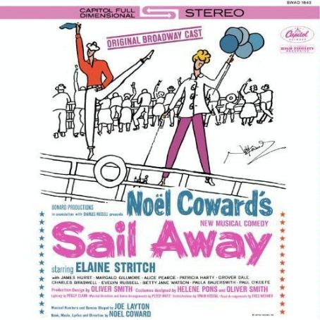 Grover Dale Sail Away 1961 Original Broadway Cast Recording