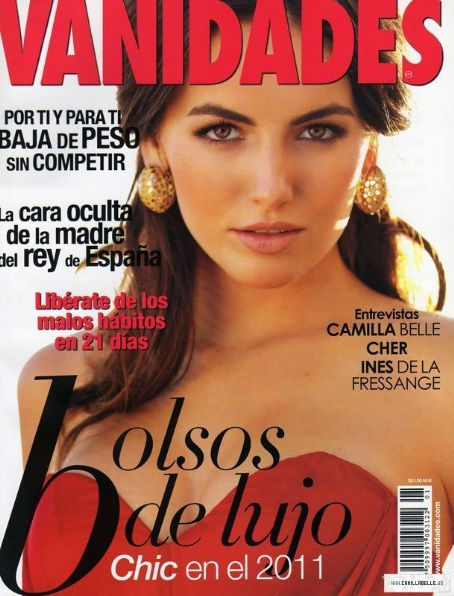 Camilla Belle - Vanidades Magazine Cover [Mexico] (15 January 2011)
