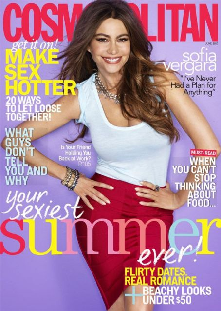 Sofía Vergara - Cosmopolitan Magazine Cover [United States] (June 2013)