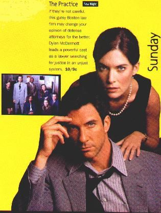 The Practice - Lara Boyle and Dylan McDermott