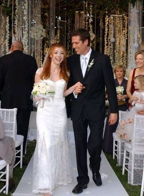 Alexis Denisof Alexis Denis and Alyson Hannigan
