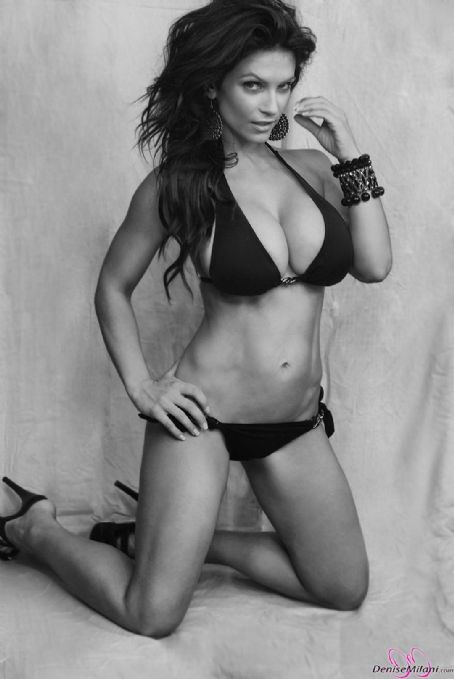 Denise Milani - Black And White