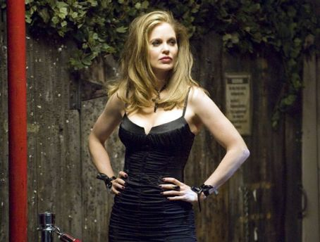 Kristin Bauer van Straten Kristen Bauer as Pam in True Blood.