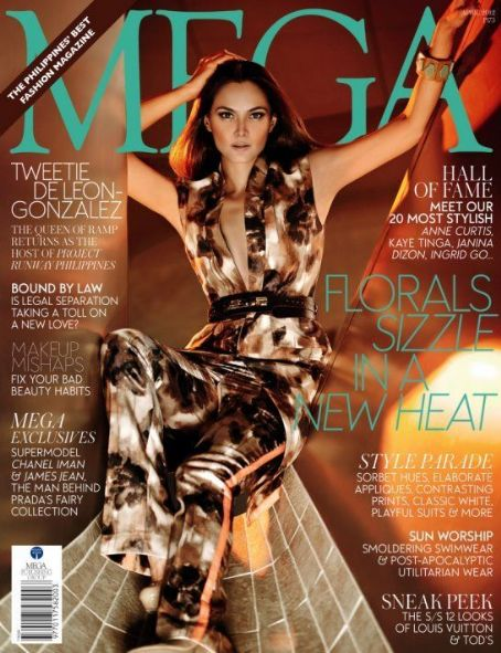 Tweetie De Leon - Mega Magazine Cover [Philippines] (April 2012)