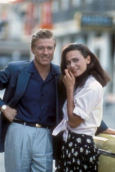 Robert Redford and Lena Olin in Havana (1990).