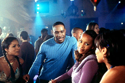Tamala Jones , Morris Chestnut, Vivica A. Fox and Wendy Raquel Robinson in Screen Gems' Two Can Play That Game - 2001