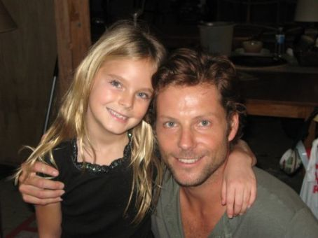 Jamie Bamber Karley Collins with  on Pulse