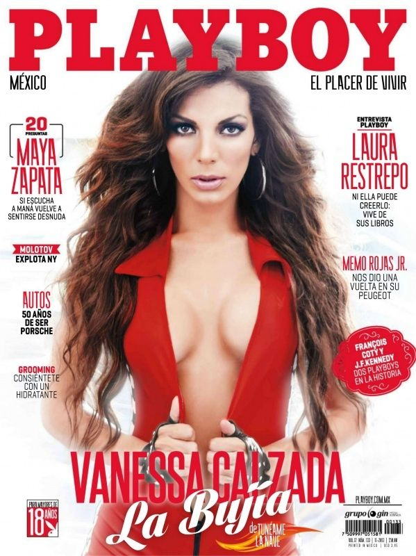Vanessa Galzada - Playboy Magazine Cover [Mexico] (November 2013)