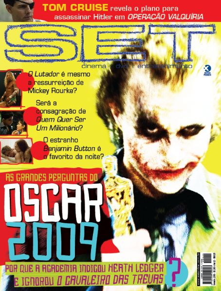 Heath Ledger - SET Magazine [Brazil] (February 2009)