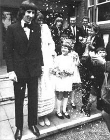 Karen Astley Wedding day, May 20 1968