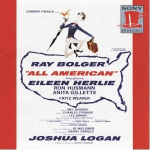 All American 1962 Ray Bolger, Music by Charles Strouse