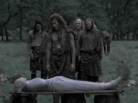 Braveheart Mel Gibson and Catherine McCormack