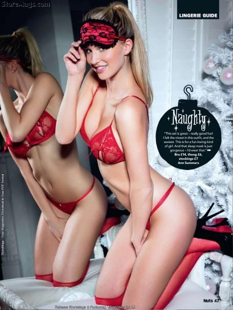 Danica Thrall  - Nuts UK - 17 December 2010