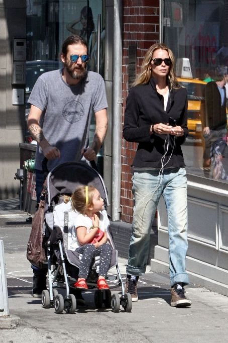 Allison Bridges Chris Robinson takes a stroll with wife  and their daughter Cheyenne in New York City