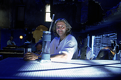 Battlefield Earth: A Saga of the Year 3000 Roger Christian, director of Warner Brothers' Battlefield Earth - 2000
