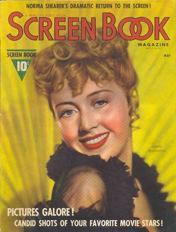 Joan Blondell - Screen Book Magazine [United States] (May 1938)
