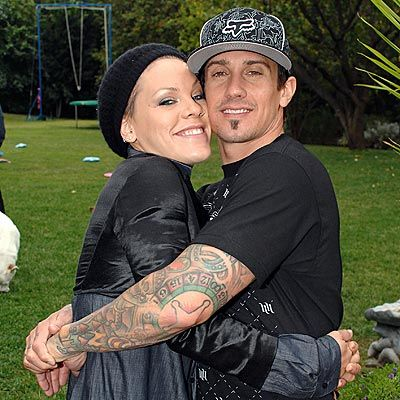 Carey Hart Pink and