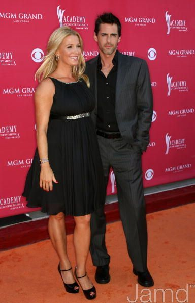 Poppy Montgomery and Adam Kaufman