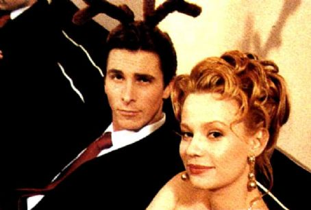 American Psycho Christian Bale and Samantha Mathis