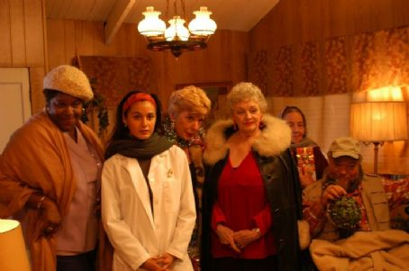 Marcella Lowery, Emmanuelle Chriqui, Margery Beddow, Marilyn Rafael and Stephen Henderson in Comedy movie, waltzing Anna - 2006