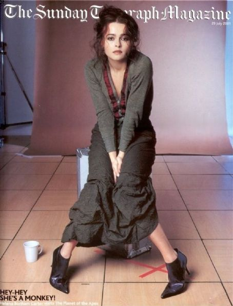 Helena Bonham Carter - The sunday telegraph Magazine Cover [United Kingdom] (29 July 2001)