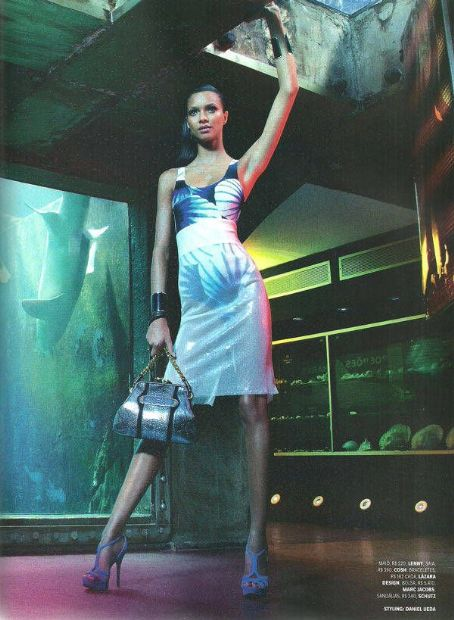 Lais Ribeiro  Vogue Brazil January 2012