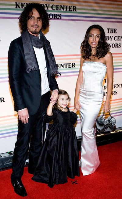Vicky Karayiannis - Chris Cornell and wife Vicky