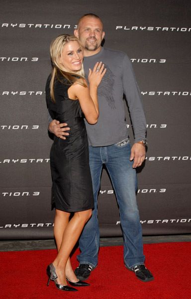 Chuck Liddell  and Willa Ford