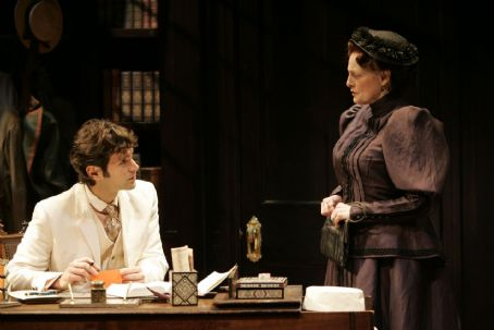 Kevin Collins and Dana Ivey in Mrs Warren's Profession
