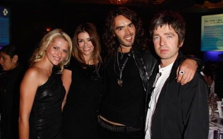 Teresa Palmer , Sara MacDonald, Russell Brand and Noel Gallagher