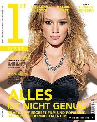 Hilary Duff - 1st First Magazine Cover [Austria] (June 2011)