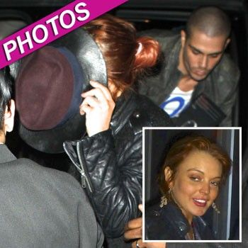 Lindsay Lohan Caught In Backstage With The Wanted's Max George