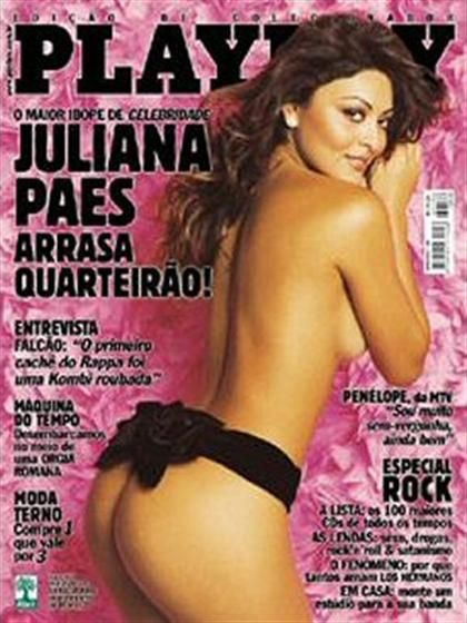 Juliana Paes - Playboy Magazine Cover [Brazil] (May 2004)