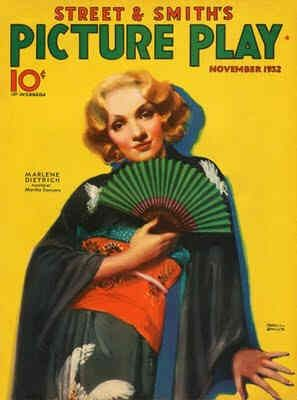 Marlene Dietrich - Picture Play Magazine [United States] (November 1932)
