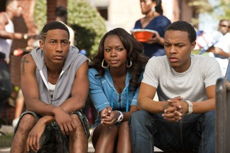 Benny (L-r) BRANDON T. JACKSON as , NATURI NAUGHTON as Stacie and BOW WOW as Kevin Carson in Alcon Entertainment's comedy 'LOTTERY TICKET,' a Warner Bros. Pictures release. Photo by David Lee