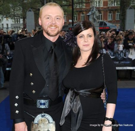 Maureen McCann Simon Pegg and