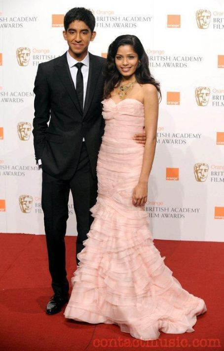 Dev Patel Freida Pinto and